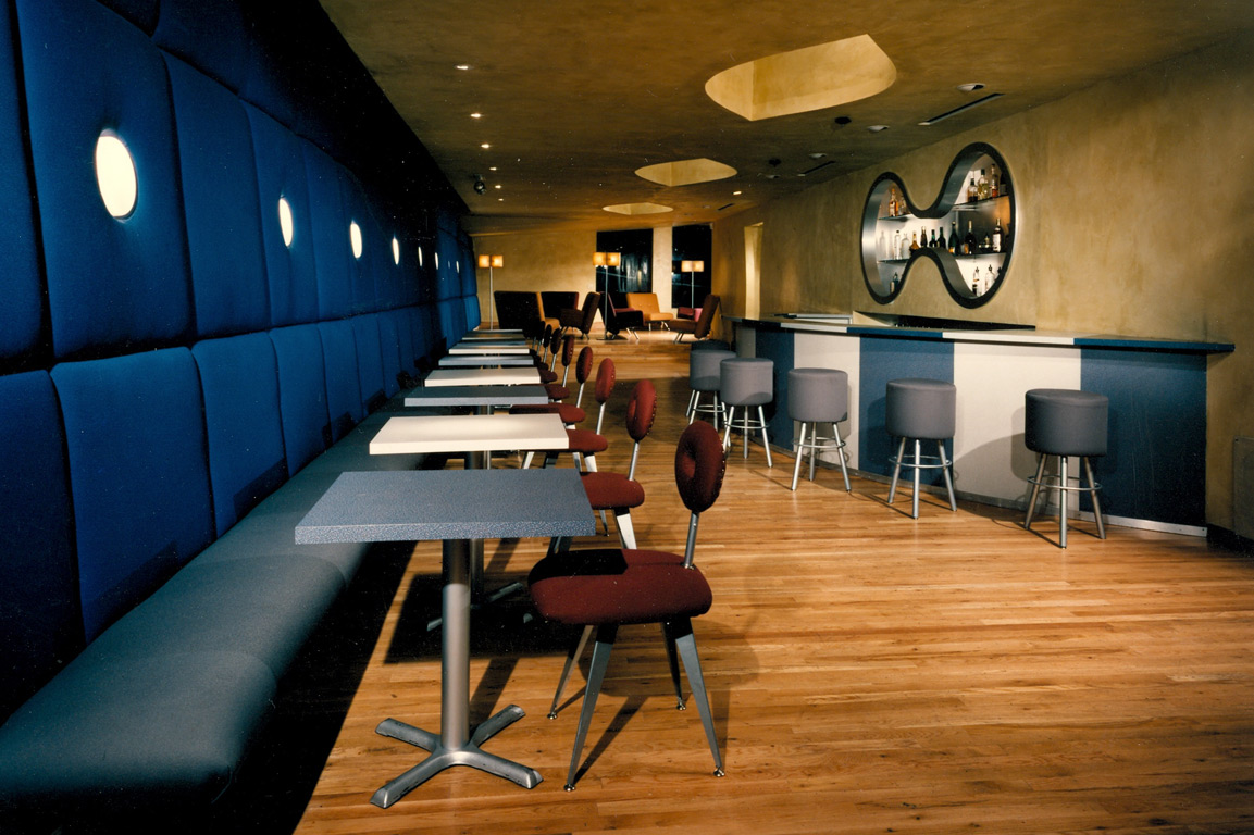 Callin Fortis Lounge Restaurant Design Vinyl Chicago 3