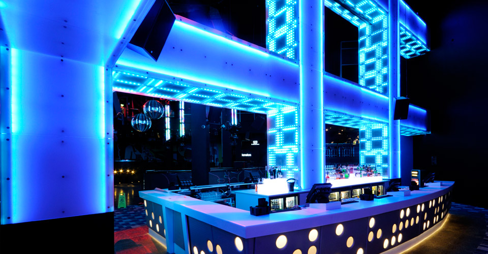 Gatecrasher - Nightclub Design by Callin Fortis