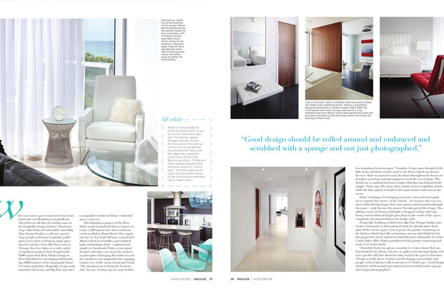 callin fortis indulge magazine 3 - Decor Magazine